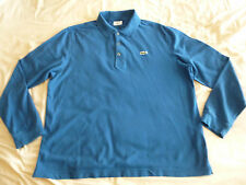 LACOSTE LONG SLEEVED POLO T SHIRT LARGE L bag jacket boots belt trainers 6 ? xl