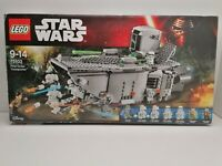 Lego 75103 Star Wars First Order Transporter Used Only 4 Minifigures