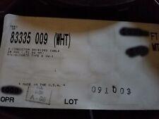 Belden Wire 83335 20/3C MIL-W-16878/4 Silver Coat Teflon Tape Shield Cable /10ft