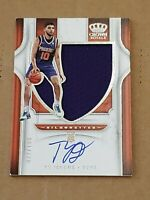 2019 Panini Crown Royale Silhouettes SP /199 Ty Jerome RC Auto Rookie Autograph