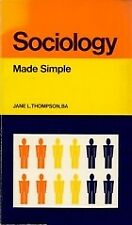 Sociology (Made Simple Books), Jane L. Thompson, Used; Good Book