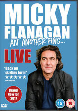 Micky Flanagan - An' Another FING Live DVD Comedy 2017 as Region 2 UK