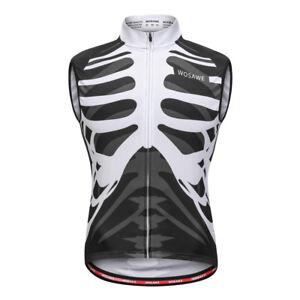 Men Women Reflective Cycling Vest Sleeveless Clothing Bike Sports Vest/Coat