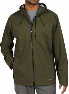 ExOfficio Rain Logic Jacket Men's 100% Waterproof Packable Hiking 1071-1236 New