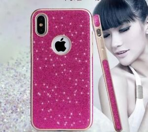 New Shiny Sparkly Luxury Thin Shockproof Soft TPU Case Cover For Apple iphone SE