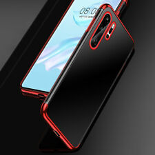 For Huawei P40 Lite P30 Pro Slim Electroplating Clear Soft Silicone Case Cover