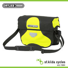 New Ortlieb Ultimate6 M High Visibility 7 L neon yellow- black reflective