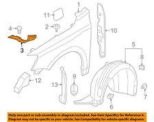 VW VOLKSWAGEN OEM 11-18 Jetta Fender-Front Brace Left 5C6821135