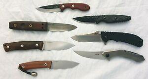 Lotto Collezione Coltelli LIONSTEEL ZERO TOLERANCE TOPS Knives Bushcraft