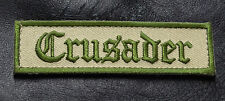 CRUSADER INFIDEL Morale Tactical Patch Multitan 3.75 inch HOOK LOOP PATCH