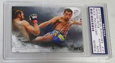Anthony Pettis Signed UFC 2014 Topps Bloodlines Black #/25 Card #121 PSA/DNA COA