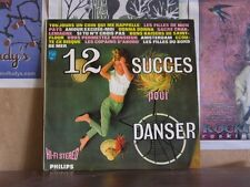 12 SUCCES POUR DANSER - FRENCH LP CHEESECAKE 88.061 DY