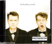 CD NEU OVP Pet Shop Boys Actually ELECTROSPECTIVE Stickered Last EMI Original