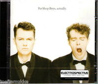 CD Pet Shop Boys Actually ELECTROSPECTIVE Stickered Last EMI Original Press. Neu