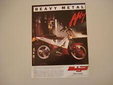 advertising Pubblicità 1991 MALAGUTI FIFTY TOP 50