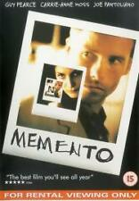 MEMENTO - DVD -  Guy Pearce, Joe Pantoliano, Carrie-Anne Moss