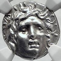 RHODES Island Off Caria Ancient 125BC Silver Greek Didrachm Coin NGC MS  i82354