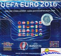 2016 Panini Adrenalyn EURO France Factory Sealed 50 Pack Booster Box-300 Card