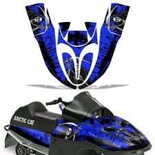Sled Graphic Kit Arctic Cat SnoPro 120 Sno Pro Snowmobile Wrap Decal REAP BLUE
