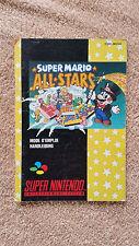 Notice Super Mario All Stars Super Nintendo / FAH / envoi gratuit