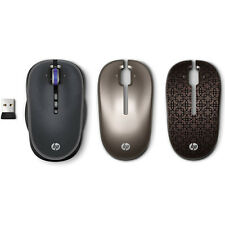 WX414AA HP Wireless USB 3Button Optical Mobile Mouse + Silver Gray Bronze Covers