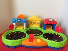 2012 Mattel Fisher Price Spinnin Sounds And Lights Garage Gift