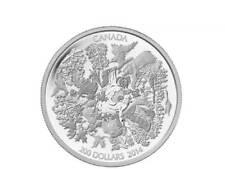 200 $ Dollar Towering Forests of Canada Kanada 2 oz Unzen Silber 2014