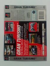 *BACK INLAY ONLY* Gran Turismo Back Inlay  PS1 PSOne Playstation