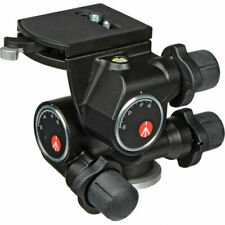 Manfrotto 410 3-Way, Geared Pan-and-Tilt Head with 410PL QR. No Fees! EU Seller!