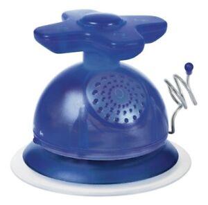 Skymaster Wasserhahn Badezimmer-Radio blau