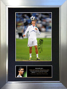 CRISTIANO RONALDO Football Signed Autograph Mounted Photo Repro A4 Print 139