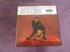 CD EP Single JOHNNY HALLYDAY - tu parles trop NEUF