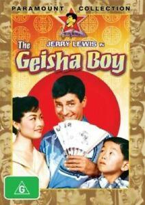 GEISHA BOY DVD Jerry Lewis Movie Marie McDonald 1958 - AUSTRALIAN REGION 4