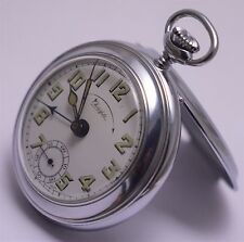 Vintage Chesterfield Pocket Watch with Alarm. Exc to Near Mint, Working.