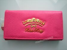 Hello kitty Rose Pink Long Wallet Purse Coin Bag ~ NEW Free Shipping