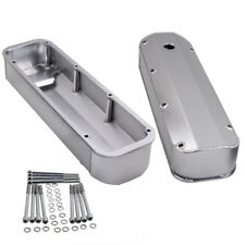 """For Ford 429 460 Fabricated Aluminum Tall Valve Covers 1/4"""" Rail Sale"""