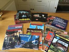 Lot 21 HO N VTG 70s 80s Model Railway Catalogues Marklin Jouef Liliput HAG Roco
