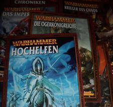 Warhammer Fantasy - Armeebuch - Verschiedene zur Auswahl