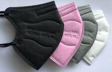 🔥 5x MASKE FFP2 Größe S XS schwarz weiß pink blau für Frauen Jugendl. CE2163🔥