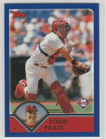 2003 Topps Baseball Philadelphia Phillies Team Set