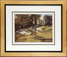 Wendy Stevenson Signed & Numbered Offset Lithograph of geese, Framed, Make Offer