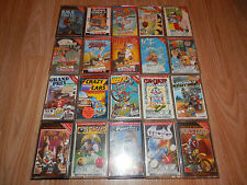 RARE MIX JOB LOT Of  20 Games Commodore 64 C64 CASSETTE GAMES Mastertronic