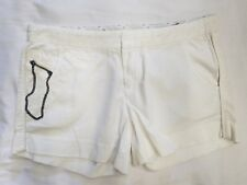 NWT WOMEN'S STITCH'S CHINO SHORTS WHITE STY#CWSED04E04 SIZE:27