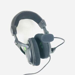 Turtle Beach Ear Force - X12 Green/Black Gaming Headband Headsets PC & Xbox 360