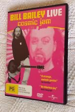 Bill Bailey - Live - Cosmic Jam (DVD, 2007) REGION-4, LIKE NEW, FREE SHIIPING