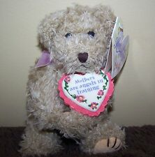 "Mother's are Angels in Training 7"" Jointed Plush Bear"