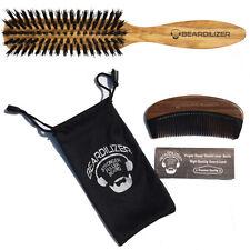 Beardilizer Beard Brush And Beard Comb Set Grooming Kit 100% Genuine