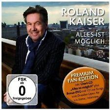 ROLAND KAISER - ALLES IST MÖGLICH-PREMIUM FAN EDITION  CD + DVD+++++++ NEU