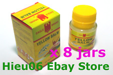 8 x Eagle Brand Yellow Balm 1.4 oz EXTERNAL ANALGESIC Ointment ache pain relief