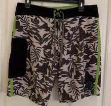 ROARK REVIVAL Hawaiian Board Shorts Size 34